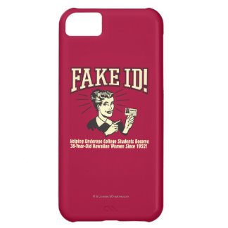 Fake ID: Underage College Hawaiian iPhone 5C Case