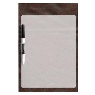 Fake Leather Design Dry Erase Board