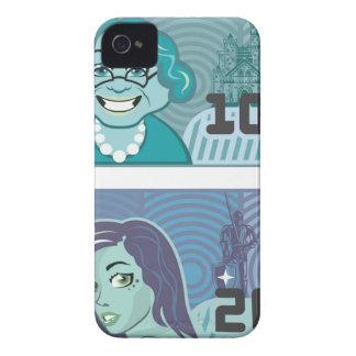 Fake Money Grandma 100 and Girl 20 vector Case-Mate iPhone 4 Case