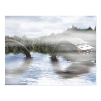 Fake Ness Postcard
