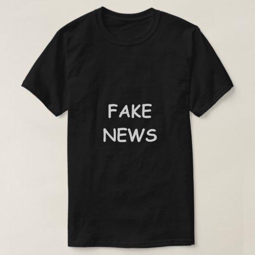 Fake News Funny Shirt
