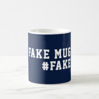 Fake News Humor Fake Coffee Mug