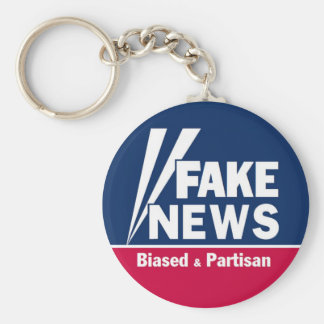 Fake News Keychain