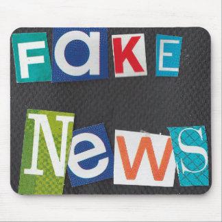 Fake News Mouse Pad
