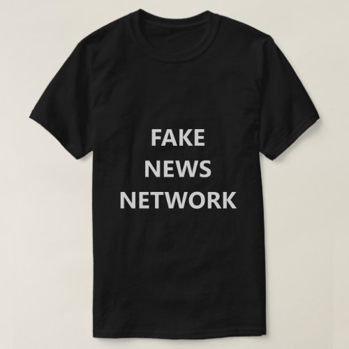 Fake News Network Funny Shirt