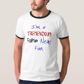 Fake News Political Protest Funny Men's Tshirt