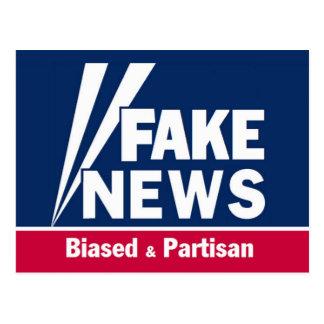 Fake News Postcard