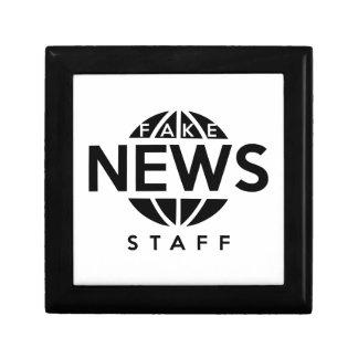 Fake News Staff Keepsake Box