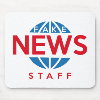 Fake News Staff Mouse Pad