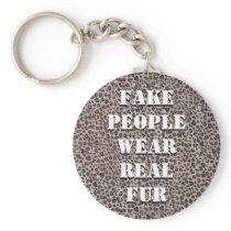Fake People Keychain