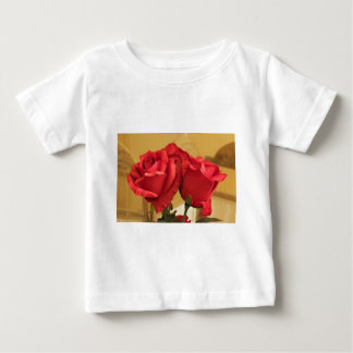 Fake plastic roses baby T-Shirt