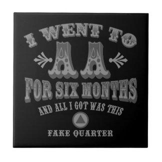 Fake Quarters Tile