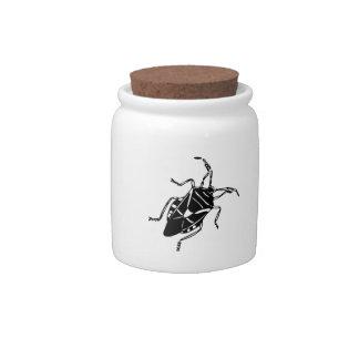 Fake Roach Candy Jar