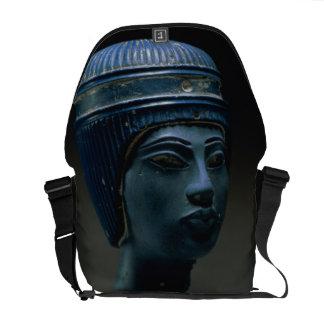 Fake royal head, originally thought to be Tutankha Messenger Bag