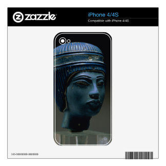 Fake royal head, originally thought to be Tutankha Skin For The iPhone 4