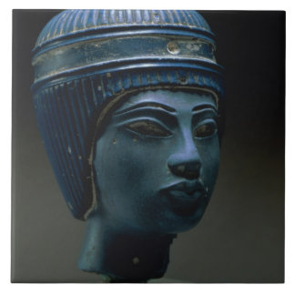 Fake royal head, originally thought to be Tutankha Tile