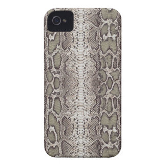 Fake Snake Skin Pattern Blackberry Case-Mate iPhone 4 Case-Mate Case