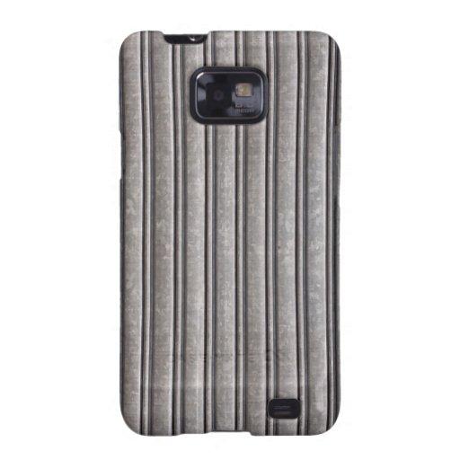 Fake Steel Armor Print Galaxy S2 Covers