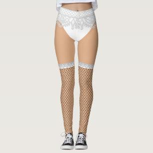415383018 Fake Underwear   Fishnet Stockings