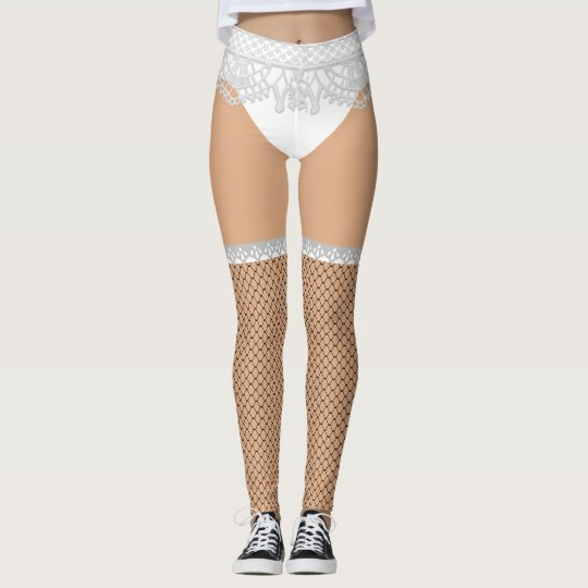 7dc66ec85 Fake Underwear   Fishnet Stockings