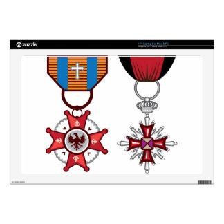Fake vector Military Medals / orders Laptop Skins