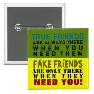 FAKE vs TRUE ~ Button Truism