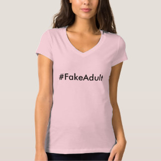 #FakeAdult Playera
