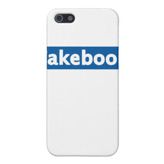 Fakebook Cover For iPhone SE/5/5s