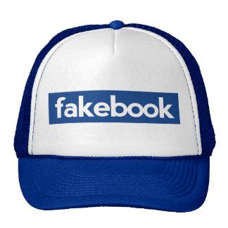 fakebook gorras de camionero