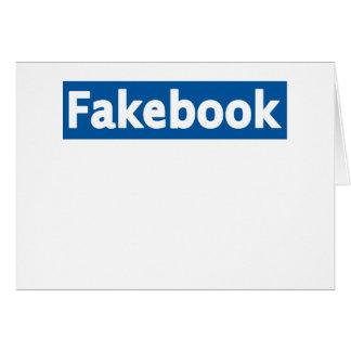 Fakebook Tarjeta De Felicitación