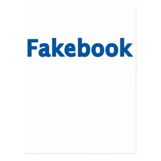 Fakebook Tarjeta Postal