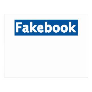 Fakebook Tarjetas Postales