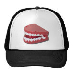 FakeChatteringTeeth081311 Trucker Hats