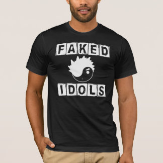 Faked Idols Classic Black (Small) American Apparel T-Shirt