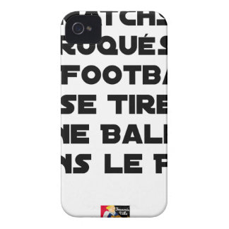 FAKED MATCHES, FOOTBALL SE DRAWS A BALL IN iPhone 4 Case-Mate CASE