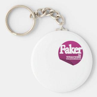 Faker - emo, eje de balancín, indie, punk, gótico, llavero personalizado