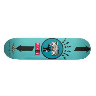 fakie skateboard