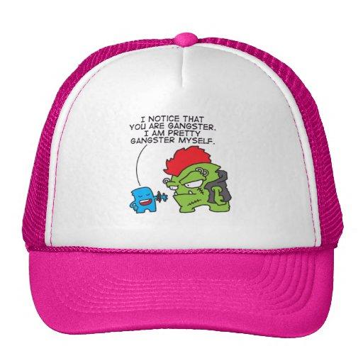fakin gansta trucker hat