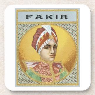 Fakir Cigar Labels Drink Coaster