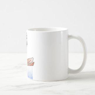 fakir classic white coffee mug