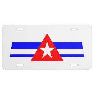 FAL cubana Placa De Matrícula