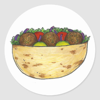 Falafel Pita Stickers