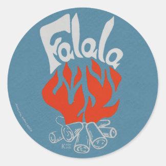 FaLaLa Round Stickers