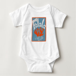 FaLaLa Vintage Block Print Baby Bodysuit