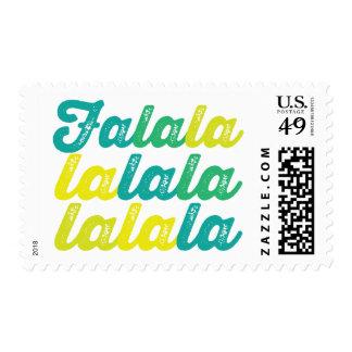 Falalalala Be Jolly Christmas Fun Holiday Stamps