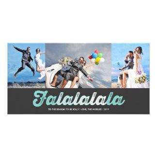 FaLaLaLaLa Jolly Christmas Fun Holiday Photo Card