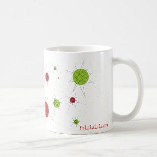 FaLaLaLaLa Starburst Mug