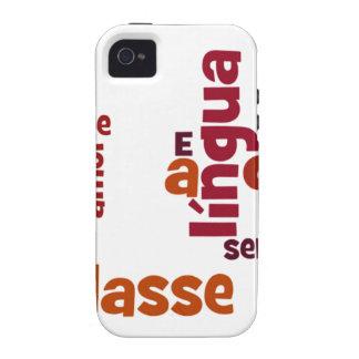 Falasse del eu del SE homens de un DOS del língua Case-Mate iPhone 4 Fundas