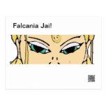 Falcania Jai! Postcard