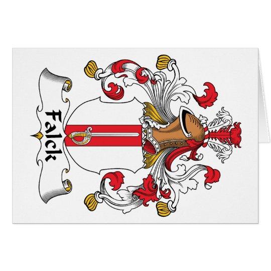 Falck Family Crest Card